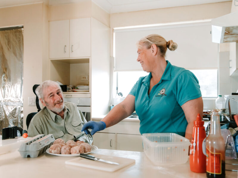 Our meal preparation service aims to ensure our clients are eating well so they can maintain a balanced and healthy diet