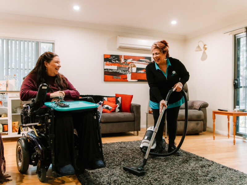 SpiritAbility offers a helping hand to relieve clients from the pressure of routine cleaning tasks so they can live in comfort at home