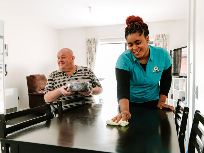 SpiritAbility's domestic support service is tailored to meet your needs